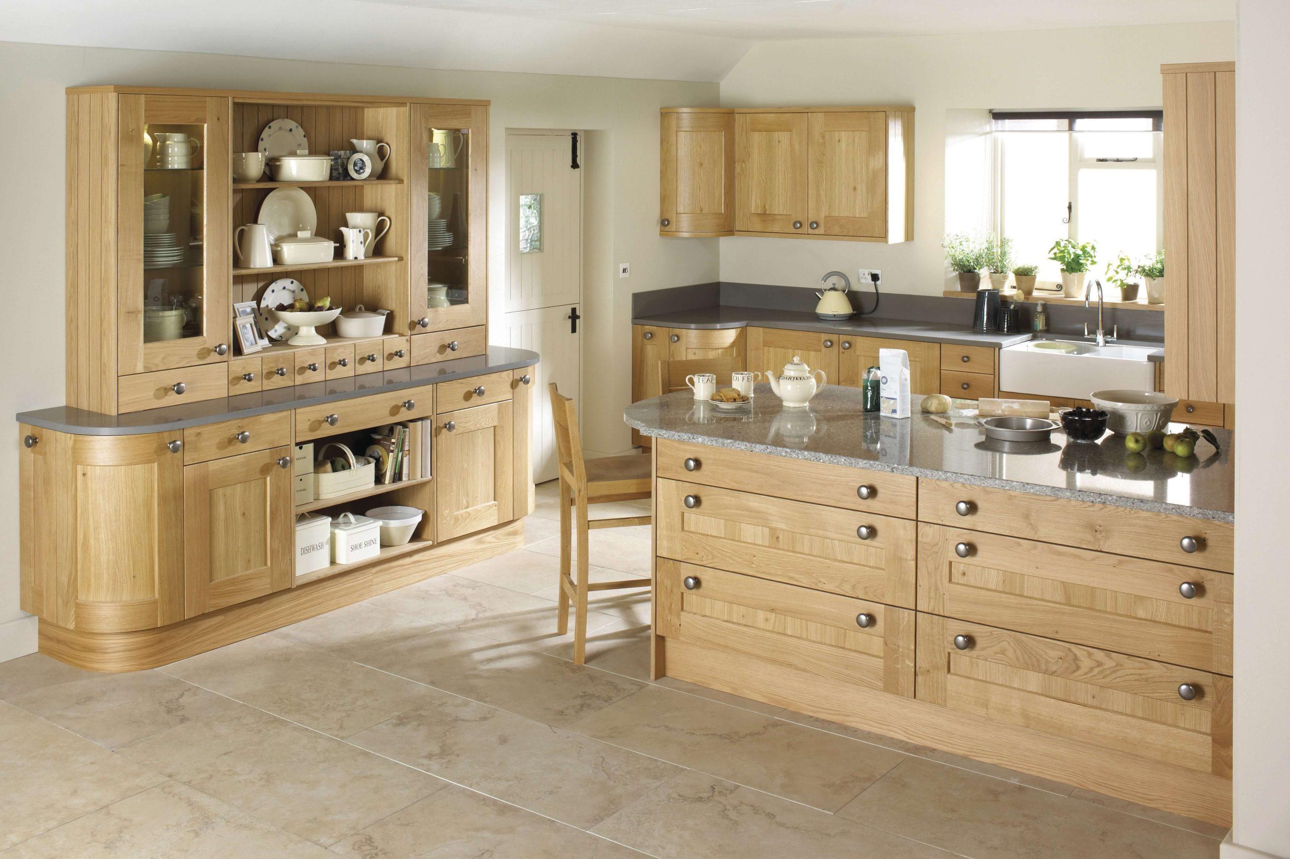 Erin Solid Oak Kitchen