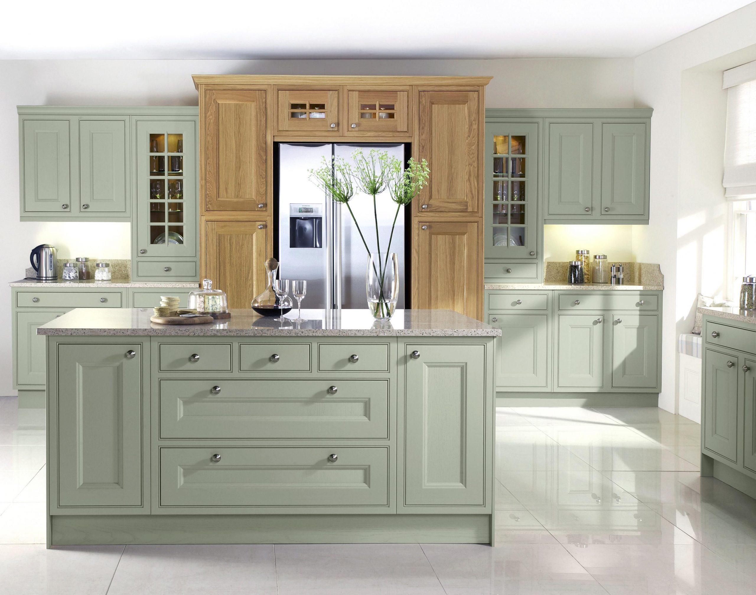 Tetbury Soft Moss kitchen