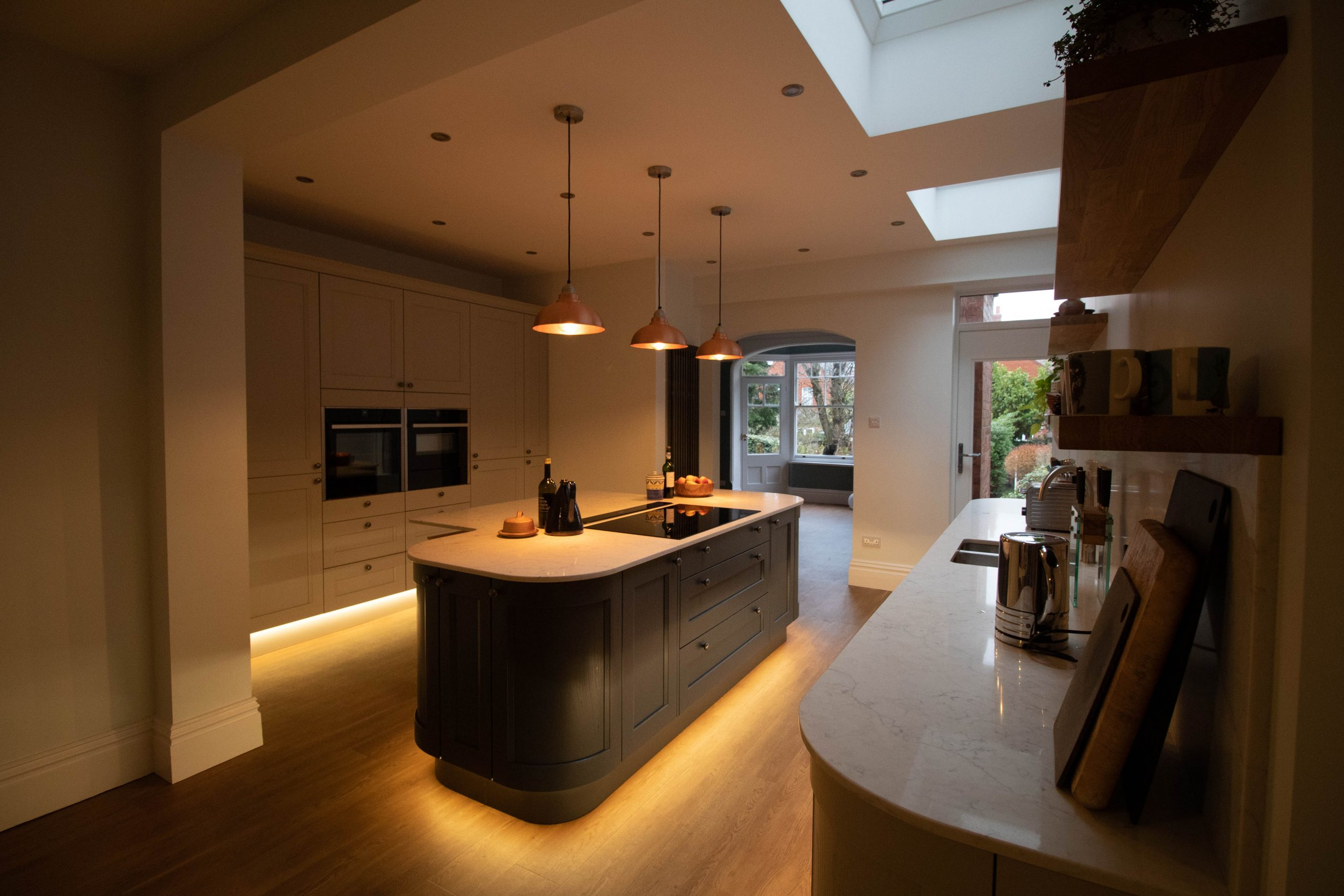 Kew Painted Shaker Kitchen, Noble Kitchens, Earlsdon