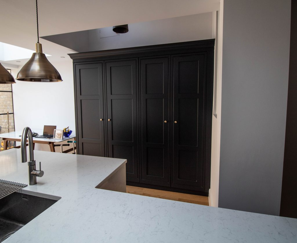 Langton In-Frame painted kitchen, Noble Kitchens