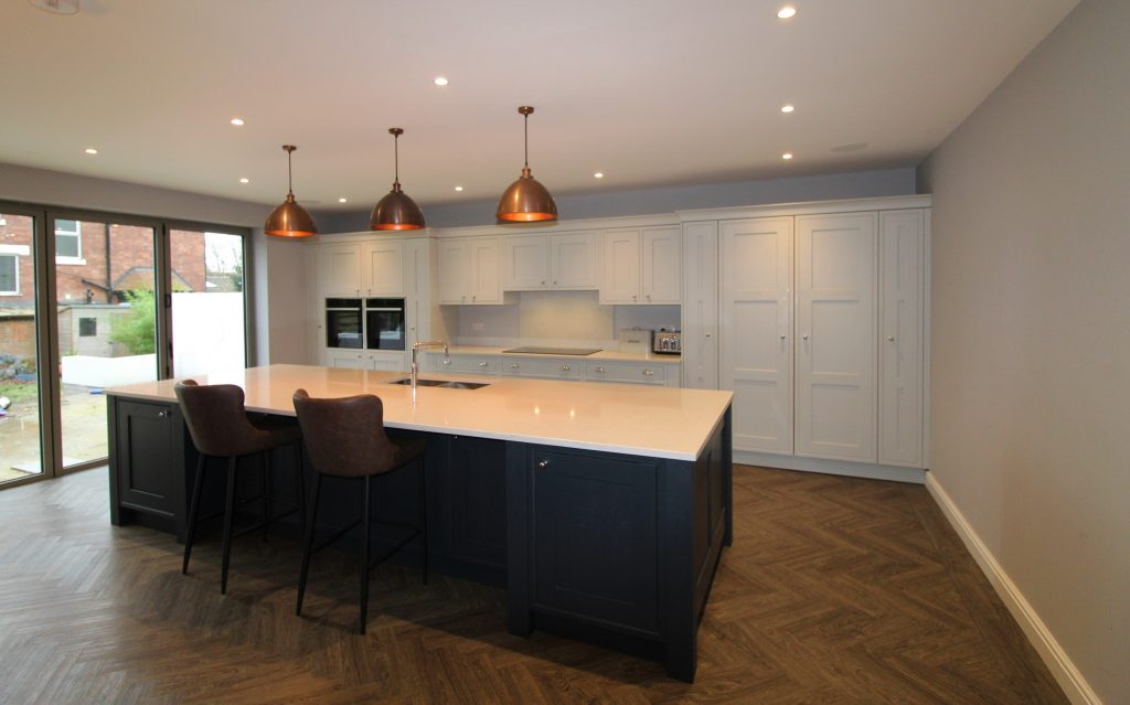 Marlow Bespoke Inframe Kitchen, Noble Kitchens, Coventry