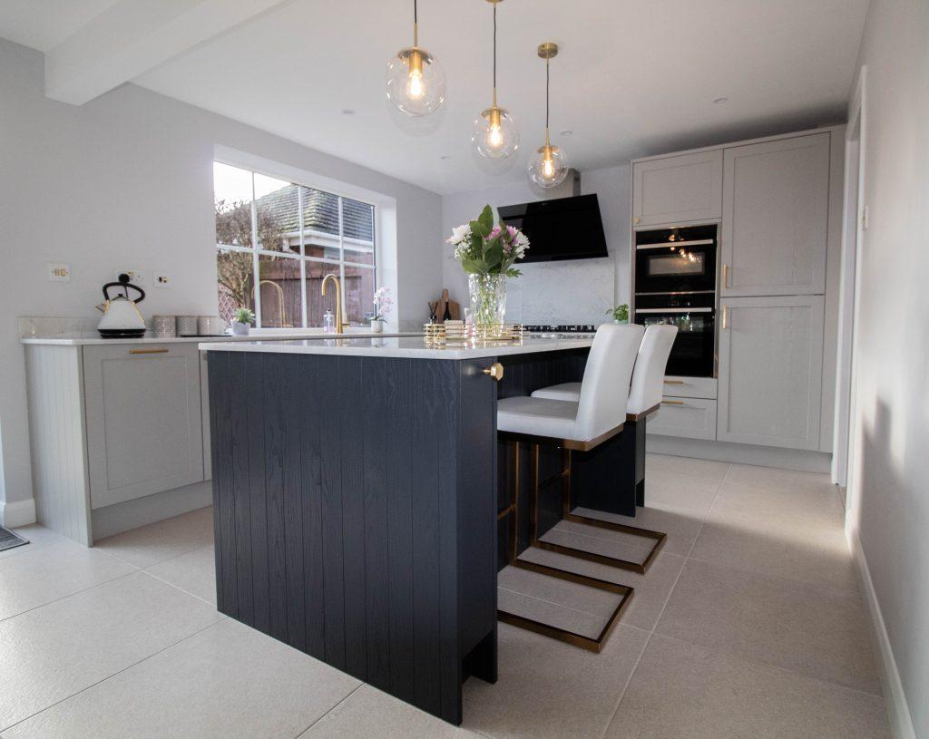 Fenton Shaker Kitchen in Soft Grey, Noble Kitchens