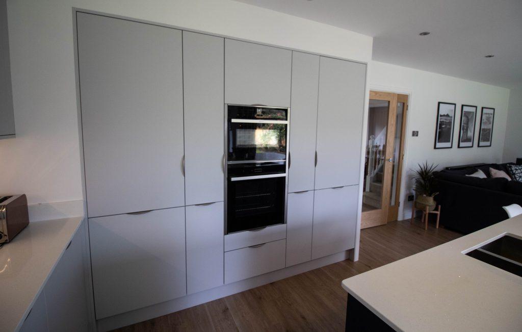 Ultra modern kitchen, Coventry